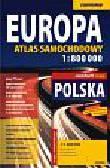 Europa atlas samochodowy 1:800 000. + laminowana mapa samochodowa 1:1 400 000 – mapa kieszonkowa