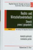 Słownik prawa i gospodarki T 2 niemiecko-polski