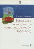 Weiner Agnieszka - Europeizacja polskiej polityki wobec cudzoziemców 1990-2003
