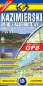 Kazimierski Park Krajobrazowy 1:50 000 Mapa turystyczna laminowana