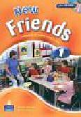 Skinner Carol, Bogucka Mariola - New Friends 1 Podręcznik z płytą CD
