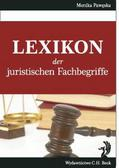 Pawęska Monika - Lexikon der juristischen Fachbegriffe. Lexikon der juristischen Fachbegriffe