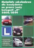 Materiały szkoleniowe dla kandydatów na prawo jazdy kategorii 'B' 2008/2009