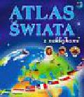 Langowska Mariola, Warzecha Teresa - Atlas świata z naklejkami