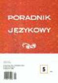 Poradnik językowy 5/2008
