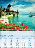 Kalendarz 2010 KT10 Zamek trójdzielny