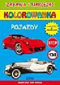 Tonder Krzysztof - Pojazdy. Zabawa i naklejki. Kolorowanka