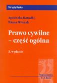 Kawałko Agnieszka, Witczak Hanna - Prawo cywilne Część ogólna