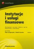 Instytucje i usługi finansowe