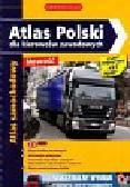 Atlas Polski dla kierowców zawodowych z płytą CD