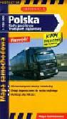 Polska kody pocztowe transport ciężarowy mapa samochodowa