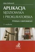 Malinowski Adam - Aplikacja sędziowska i prokuratorska Pytania i odpowiedzi