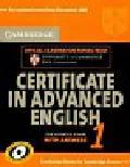 Cambridge certificate in advanced english 1