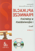 Czajkowska-Matosiuk Katarzyna - Aplikacje prawnicze w pytaniach i odpowiedziach Tom 2 z płytą CD