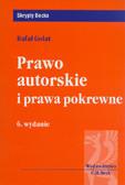 Golat Rafał - Prawo autorskie i prawa pokrewne