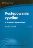 Knoppek Krzysztof - Postępowanie cywilne w pytaniach i odpowiedziach