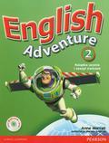 Worrall Anne - English Adventure 2 Książka ucznia i zeszyt ćwiczeń + CD i DVD