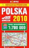 Polski mapa samochodowa 2010