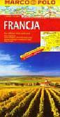 Francja Mapa drogowa