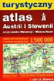 Turystyczny atlas Austrii i Słowenii oraz okolic Wenecji i Monachium