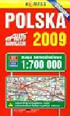 Polska 2009 mapa samochodowa