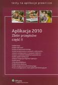 Aplikacja 2010 Zbiór przepisów część 2