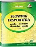 Kapusta Piotr - Słownik eksportera polsko-niemiecki niemiecko-polski