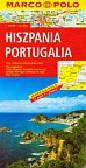 Hiszpania Portugalia mapa drogowa 1:800 000 Marco Polo