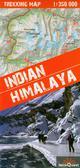 Himalaje Indyjskie mapy trekkingów 1:350 000