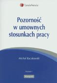 Raczkowski Michał - Pozorność w umownych stosunkach pracy