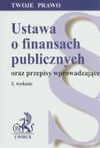 --- - Ustawa o finansach publicznych oraz przepisy wprowadzające