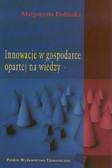 Dolińska Małgorzata - Innowacje w gospodarce opartej na wiedzy