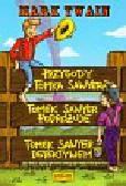 Twain Mark - Przygody Tomka Sawyera Tomek Sawyer podróżuje Tomek Sawyer detektywem