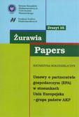 Kołodziejczyk Katarzyna - Żurawia Papers 16 Umowy o partnerstwie gospodarczym (EPA). w stosunkach Unia Europejska-Grupa państw AKP
