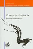 Koncepcje zarządzania Podręcznik akademicki