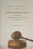 Knypl Zenon, Merchel Zbigniew - Nowy komentarz do ustawy o komornikach sądowych i egzekucji