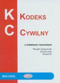 --- - Kodeks cywilny z indeksem rzeczowym