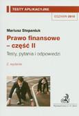 Stepaniuk Mariusz - Prawo finansowe - część II. Tom 12. Testy, pytania i odpowiedzi