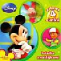 Disney Zabawy 4 latka Książka z naklejkami