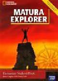 Hughes John, Polit Beata - Matura Explorer Elementary Student's Book + CD