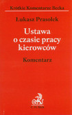 Prasołek Łukasz - Ustawa o czasie pracy kierowców Komentarz