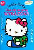 Hello Kitty Ucz się ze mną wyrazów Książeczka z naklejkami