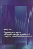 Kufel Tadeusz - Ekonometryczna analiza cykliczności procesów gospodarczych o wysokiej częstotliwości obserwowania