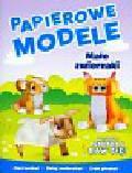 Małe zwierzaki Papierowe modele