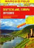 Deutschland Europa atlas samochodowy 1:300 000 Marco Polo