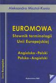 Misztal-Kania Aleksandra - Euromowa. Słownik terminologii Unii Europejskiej. Angielsko - Polski. Polsko - Angielski