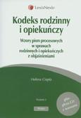 Ciepła Helena - Kodeks rodzinny i opiekuńczy. Wzory pism procesowych w sprawach rodzinnych i opiekuńczych z objaśnieniami + CD