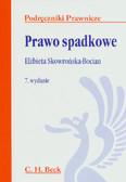 Skowrońska-Bocian Elżbieta - Prawo spadkowe