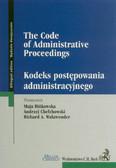 Kodeks postępowania administracyjnego The Code of Administrative Proceedings