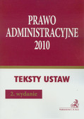 Prawo administracyjne 2010